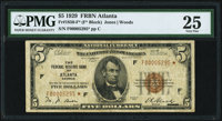 Fr. 1850-F* $5 1929 Federal Reserve Bank Star Note. PMG Very Fine 25