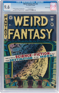 Weird Fantasy #15 (#3) Gaines File Pedigree 10/11 (EC, 1950) CGC NM+ 9.6 Off-white to white pages