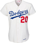 Baseball Collectibles:Uniforms, 1975 Don Sutton Game Worn Los Angeles Dodgers Jersey. ...