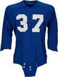 Football Collectibles:Uniforms, 1950's Doak Walker Game Worn Detroit Lions Jersey....