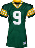 Football Collectibles:Uniforms, 1996 Jim McMahon Game Worn Green Bay Packers Jersey. ...