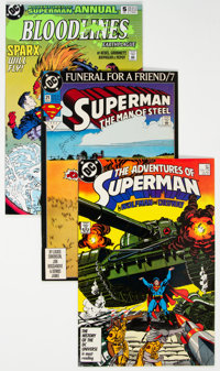 DC Modern Age Long Box Group (DC, 1980s-90s) Condition: Average NM-