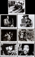 """Movie Posters:Rock and Roll, Jimi Hendrix (Warner Brothers, 1973). Overall: Very Fine. Photos (14) (8"""" X 10""""). Rock and Roll.. ... (Total: 14 Items)"""