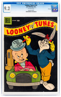 Looney Tunes and Merrie Melodies Comics #192 File Copy (Dell, 1957) CGC NM- 9.2 Off-white pages