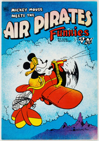 Air Pirates Funnies #1 Bobby London File Copy (Hell Comics Group, 1971) Condition: NM.... (Total: 2 Items)