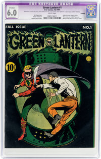 Green Lantern #1 Trimmed (DC, 1941) CGC Apparent FN 6.0 White pages