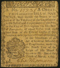 Colonial Notes:Pennsylvania, Pennsylvania March 10, 1769 4d Extremely Fine.. ...