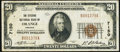 National Bank Notes:Virginia, Orange, VA - $20 1929 Ty. 1 The Citizens NB Ch. # 7150 Very Fine.. ...