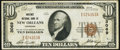 National Bank Notes:Louisiana, New Orleans, LA - $10 1929 Ty. 1 Whitney NB Ch. # 3069 Very Fine.. ...