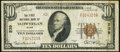 National Bank Notes:Maine, Skowhegan, ME - $10 1929 Ty. 1 The First NB Ch. # 239 Very Fine.. ...