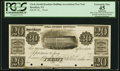 Brooklyn, NY- Clerk (of the South Brooklyn Building Association) $20 Post Note Undated Harris UNL Proof PCGS Extremely F...