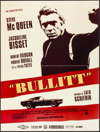 "Bullitt (Solaris, R-2006). Folded, Very Fine+. French Petite (15.75"" X 20.75""). Crime"