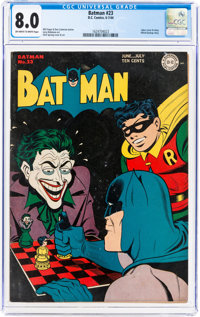 Batman #23 (DC, 1944) CGC VF 8.0 Off-white to white pages