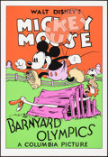 """Movie Posters:Animation, Barnyard Olympics (Circle Fine Art, R-1980). Rolled, Very Fine/Near Mint. Fine Art Serigraphs (5) Identical (21"""" X 31""""). Ani... (Total: 5 Items)"""