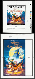 "Movie Posters:Animation, The Great Mouse Detective (Buena Vista, 1986). Overall: Very Fine-. Printer's Proofs (8) (10"" X 11"" - 20"" X 24""). Animation.... (Total: 8 Items)"