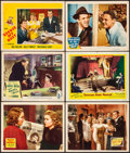 """Movie Posters:Drama, Walking Down Broadway & Other Lot (20th Century Fox, 1938). Fine/Very Fine. Lobby Cards (11) (11"""" X 14""""). Drama.. ... (Total: 11 Items)"""