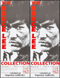 """Movie Posters:Action, The Bruce Lee Collection Auction (Superior Galleries, 1993). Rolled, Very Fine. Auction Posters (14) Identical (12"""" X 31.5"""")... (Total: 14 Items)"""