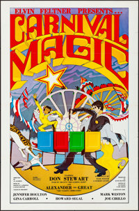 """Carnival Magic & Other Lot (Krypton Films, 1981). Folded and Flat Folded, Very Fine-. One Sheets (59) (27""""..."""