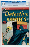Golden Age (1938-1955):Superhero, Detective Comics #44 Central Valley Pedigree (DC, 1940) CGC NM 9.4 White pages....