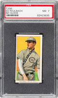 Baseball Cards:Singles (Pre-1930), 1909-11 T206 Sweet Caporal Ed Reulbach (No Glove) PSA NM 7. ...