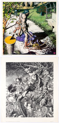 Barry Smith Limited Edition Signed and Numbered Print Group of 5 (Gorblimey Press, 1970-1980s)... (Total: 5 Items)