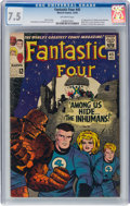 Silver Age (1956-1969):Superhero, Fantastic Four #45 (Marvel, 1965) CGC VF- 7.5 Off-white pages....