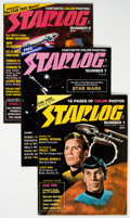 Magazines:Science-Fiction, Starlog #1-30 Group (Starlog Press, 1976-82) Condition: Average FN.... (Total: 34 Items)
