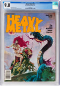 Magazines:Science-Fiction, Heavy Metal V5#1 (#49) (HM Communications, 1981) CGC NM/MT 9.8 White pages....