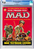 Magazines:Mad, More Trash from Mad #3 (EC, 1960) CGC NM+ 9.6 Off-white to white pages....