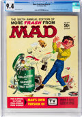 Magazines:Mad, More Trash from Mad #6 (EC, 1963) CGC NM 9.4 Off-white to whitepages....
