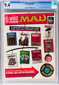 Worst From Mad #6 (EC, 1963) CGC NM 9.4 Off-white to white pages