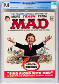 Magazines:Mad, More Trash from Mad #4 (EC, 1961) CGC NM/MT 9.8 White pages....