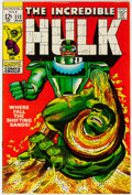 Silver Age (1956-1969):Superhero, The Incredible Hulk #113 (Marvel, 1969) Condition: NM-....