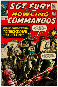 Sgt. Fury and His Howling Commandos #11 (Marvel, 1964) Condition: NM-