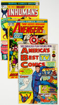 Silver Age (1956-1969):Superhero, Marvel Silver and Bronze Age Comics Group of 4 (Marvel, 1960s-70s)Condition: Average VF.... (Total: 4 Comic Books)