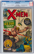 Silver Age (1956-1969):Superhero, X-Men #10 (Marvel, 1965) CGC VF- 7.5 Off-white pages....