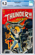 Silver Age (1956-1969):Superhero, T.H.U.N.D.E.R. Agents #1 (Tower, 1965) CGC NM- 9.2 Off-white to white pages....