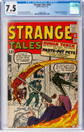Silver Age (1956-1969):Superhero, Strange Tales #104 (Marvel, 1963) CGC VF- 7.5 Off-white to whitepages....