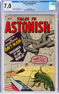 Silver Age (1956-1969):Superhero, Tales to Astonish #41 (Marvel, 1963) CGC FN/VF 7.0 White pages....