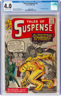 Silver Age (1956-1969):Superhero, Tales of Suspense #41 (Marvel, 1963) CGC VG 4.0 Cream to off-whitepages....