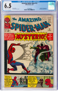 Silver Age (1956-1969):Superhero, The Amazing Spider-Man #13 (Marvel, 1964) CGC FN+ 6.5 Off-white towhite pages....