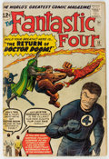 Silver Age (1956-1969):Superhero, Fantastic Four #10 (Marvel, 1963) Condition: GD-....