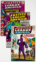 Silver Age (1956-1969):Superhero, Justice League of America Group of 11 (DC, 1965-77) Condition:Average VF.... (Total: 11 Comic Books)