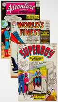 Silver Age (1956-1969):Superhero, Superman-Related Group of 34 (DC, 1960s) Condition: AverageVG/FN.... (Total: 34 Comic Books)