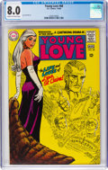 Silver Age (1956-1969):Romance, Young Love #68 (DC, 1968) CGC VF 8.0 Cream to off-white pages....