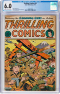 Golden Age (1938-1955):Superhero, Thrilling Comics #51 (Better Publications, 1945) CGC FN 6.0 Cream to off-white pages....