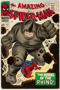 Silver Age (1956-1969):Superhero, The Amazing Spider-Man #41 (Marvel, 1966) Condition: VG....
