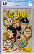 Silver Age (1956-1969):Romance, Love Diary #10 (Charlton, 1960) CGC VG/FN 5.0 White pages....