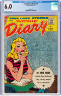 Silver Age (1956-1969):Romance, Sweetheart Diary #45 (Charlton, 1959) CGC FN 6.0 Off-white to whitepages....