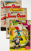 Silver Age (1956-1969):Superhero, Superman's Pal Jimmy Olsen Group of 46 (DC, 1956-74) Condition:Average VG+.... (Total: 46 Comic Books)